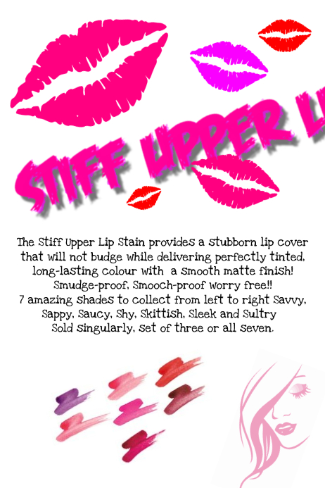 younique lip stain flyer