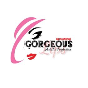 Lipstick logo template