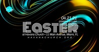 Liquid Church Easter Service Special Guest Ev Facebook Event Cover template
