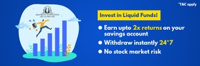 Liquid Fund Investing Email Header Template