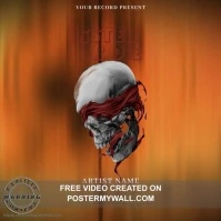 listen or die Hip Hop Mixtape/Album Cover Art