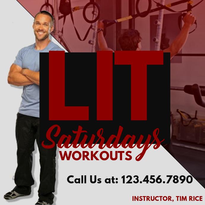 LIT Saturday Workouts