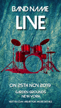 Live Band Historia de Instagram template