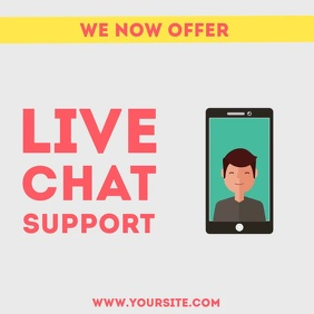 Live chat support animation video 2