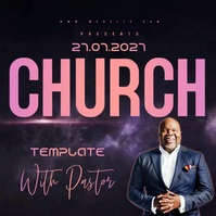 live church AD DESIGN TEMPLATE Message Instagram