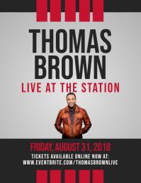 Live Concert: Thomas Brown