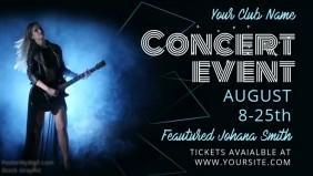 Live Concert Facebook Video Template