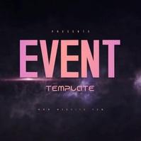 LIVE EVENT AD DESIGN TEMPLATE Instagram Post