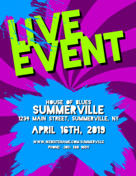 Live Event Flyer