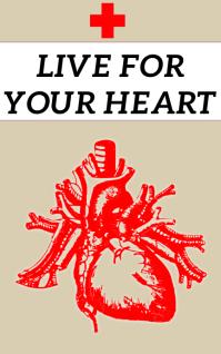 LIVE FOR YOUR HEART BOOK TEMPLATE Portada de Kindle