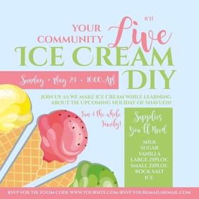 Live Ice Cream DIY