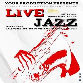 Live Jazz Concert Instagram template