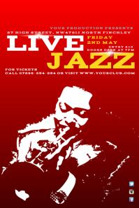 Live Jazz Poster