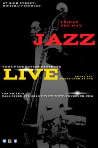 Live Jazz Flyer