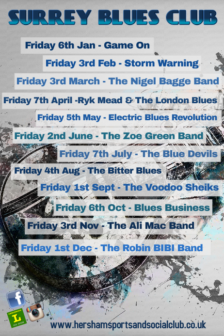 Live Music/Bands Poster