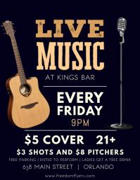Live Music Bar Template