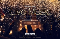 Live Music Concert/Band Banner Template
