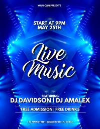 Live Music Flyer