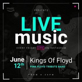 Live Music Instagram Image