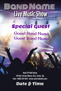 Live Music Show Template