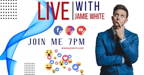 LIVE SESSION FACEBOOK AD TEMPLATE