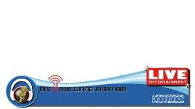 Live TV Foot Digital Display (16:9) template
