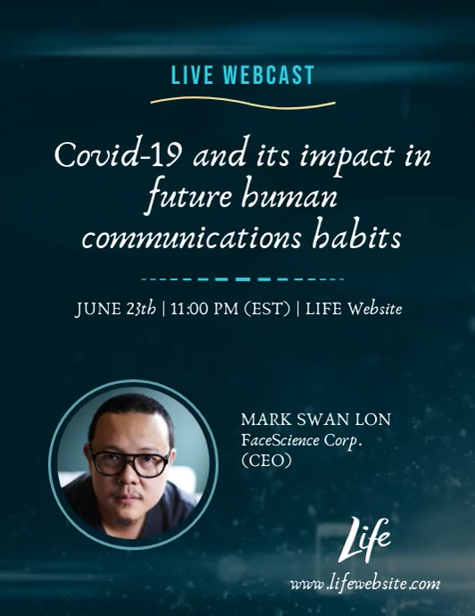 Live Webcast Life Webinar Covid-19 Impact Ad