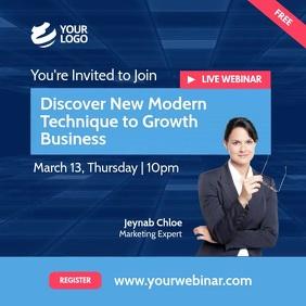 Live Webinar Invitation Instagram video