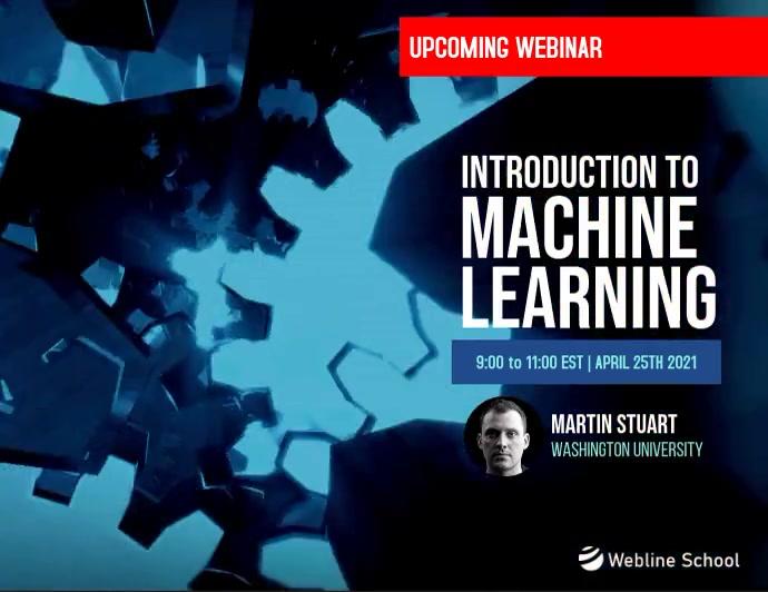 Live Webinar Machine Learning Programming Ad