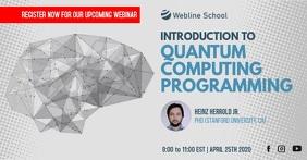 Live Webinar Quantum Computing Programming Ad
