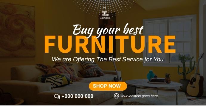 Living Room Furniture Sampul Acara Facebook template