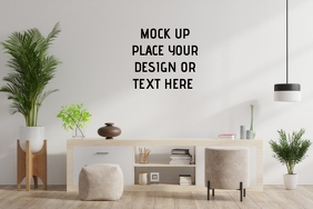 Living Room Setting Label template