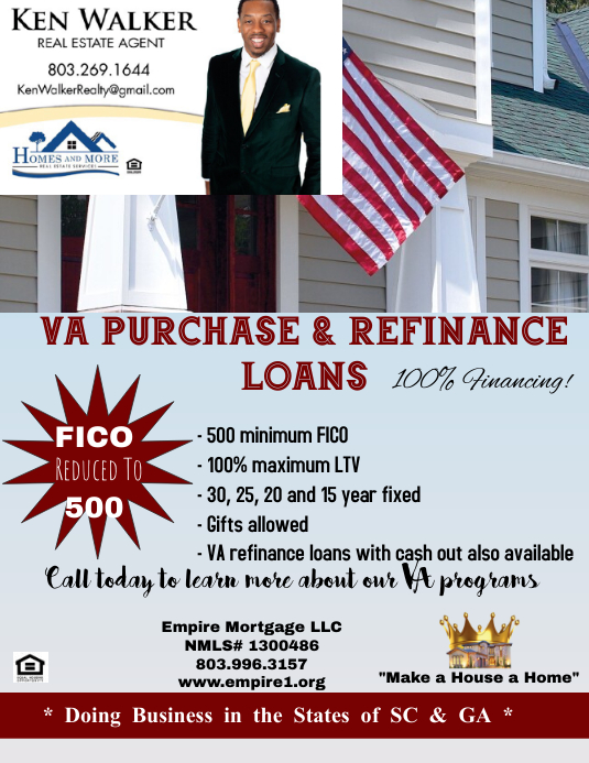 Loan Flyer (Letter pang-US) template