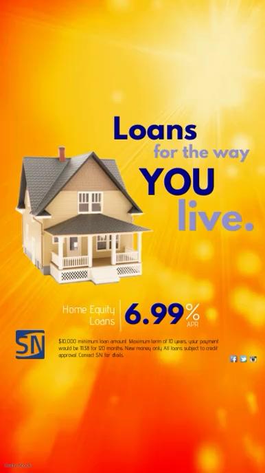 Loans Instagram Template