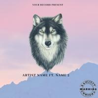 lobo Mixtape/Album Cover Art template