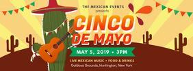Local Cinco de Mayo Festivities Invitation Banner