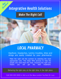 Local Pharmacy Flyer