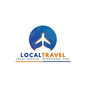Local Travel Agency Logo template
