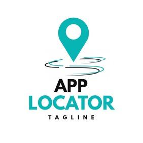 Locator app icon logo