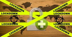 LOCKDOWN IN WHOLE WORLD TEMPLATE Facebook Event Cover