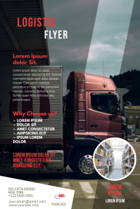 Logistic Business Flyer Template