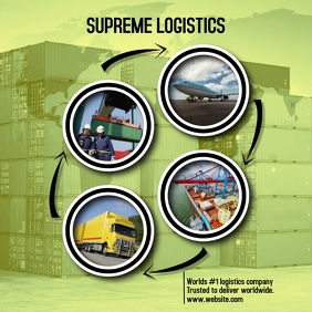 Logistics advert