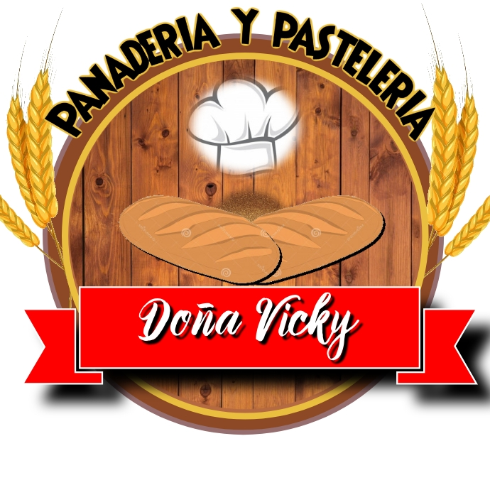 LOGO BAKERY PANADERIA CHEF template