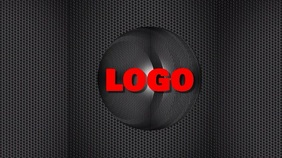 Logo black video graphics design