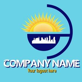 logo for real estate or solar energy