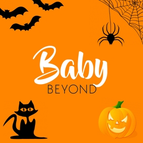 Logo halloween Logotipo template