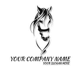 LOGO HORSE template