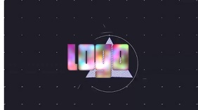 Logo Layout 26 Pantalla Digital (16:9) template