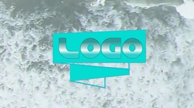 Logo Layout 27 Pantalla Digital (16:9) template
