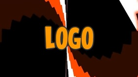 Logo Layout 37 Pantalla Digital (16:9) template